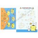Ano 2011. Conjunto de Papel de Carta Pompompurin Friendship2 Sanrio