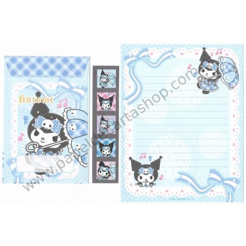Ano 2012. Conjunto de Papel de Carta Kuromi CAZ Sanrio