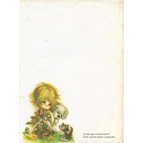 Papel de Carta Antigo Coleção Polly Patches 2