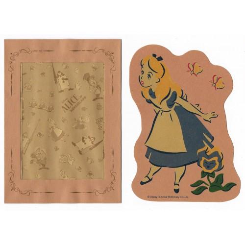 Conjunto de Papel de Carta Disney Alice P Sun-Star (CAM)