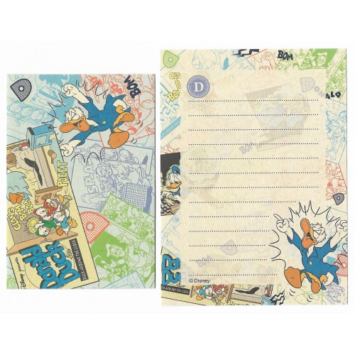Conjunto de Mini Papel de Carta Disney Donald Duck - Duck Around the Clock