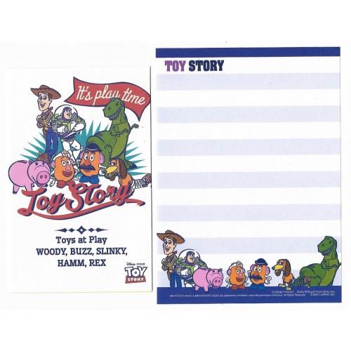 Kit 2 Conjuntos de Mini-Papéis de Carta Pixar Toy Story