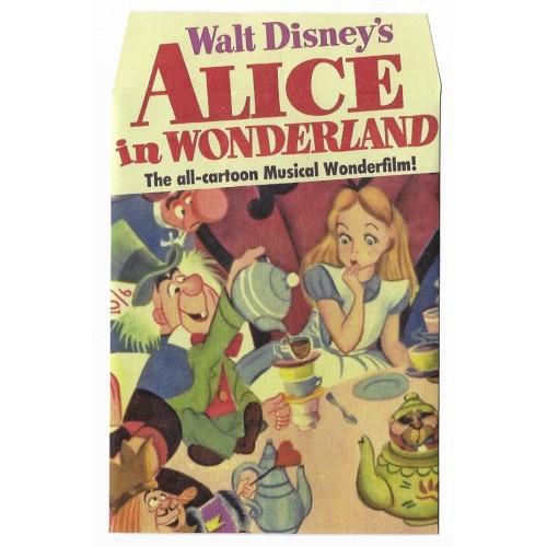 Mini Envelope Alice in Wonderland - Wonderfilm