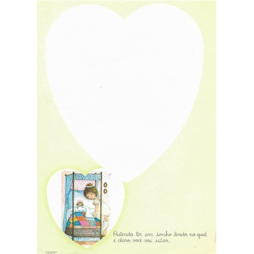 Papel de Carta July Pop B-10