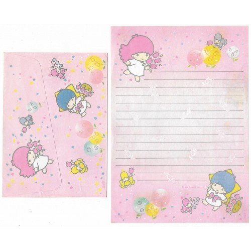 Conjunto de Papel de Carta Antigo Little Twin Stars (CRS3)