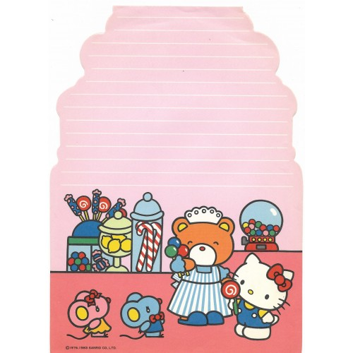 Ano 1983. Papel de Carta AVULSO Hello Kitty Antigo (Vintage) Sanrio