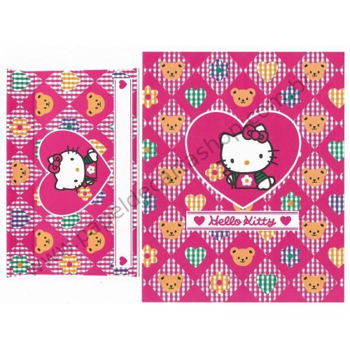 Ano 1994. Conjunto de Papel de Carta Hello Kitty PINK Vintage Sanrio