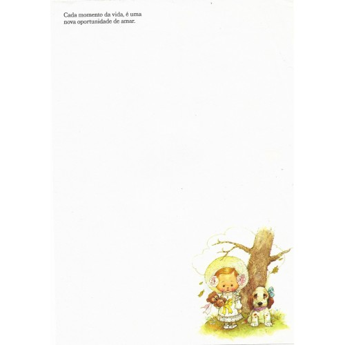 Papel de Carta AVULSO Coleção Giordano 12