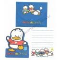 Ano 1993. Conjunto de Mini-Papel de Carta Ahiru No Pekkle Vintage Sanrio