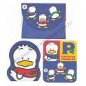 Ano 1995. Conjunto de Mini-Papel de Carta Ahiru No Pekkle CRX Vintage Sanrio