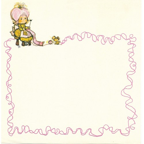 Papel de Carta Antigo Annie6