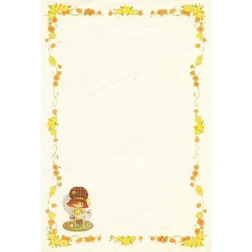 Papel de Carta Antigo Bonnie Bonnets CAM4