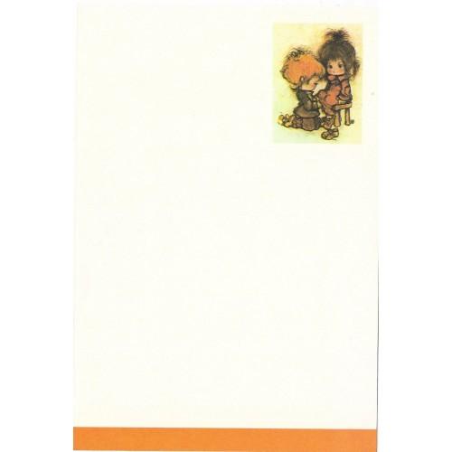 Papel de Carta Antigo Annie7