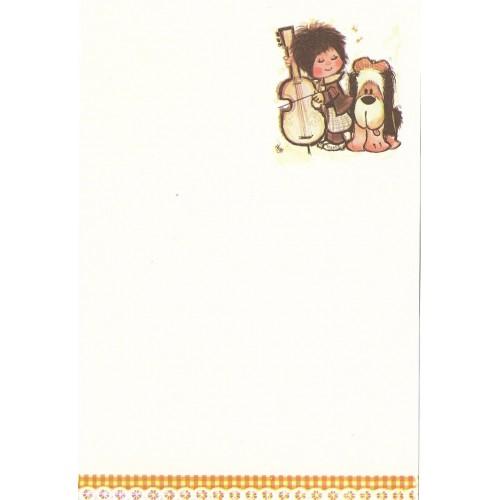 Papel de Carta Antigo Annie8
