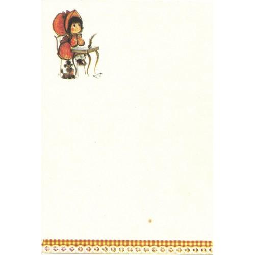 Papel de Carta Antigo Annie9