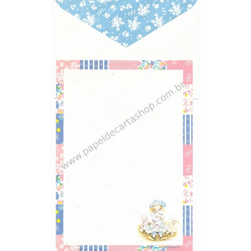 Conjunto de Papel de Carta Holly Hobbie HH CAZ