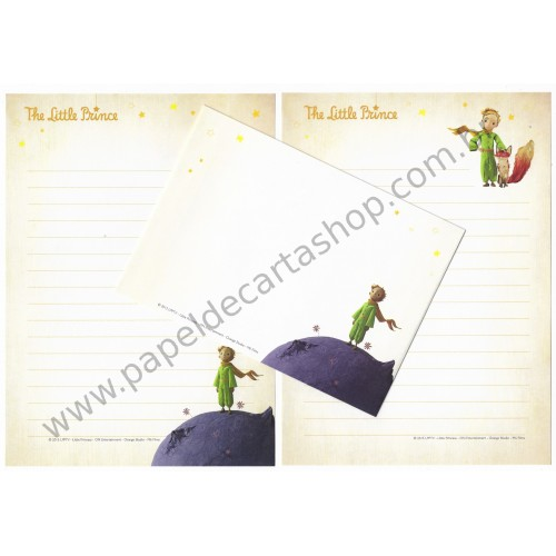 Conjunto de Papel de Carta Importado The Little Prince CLL