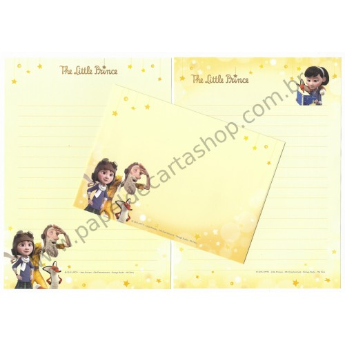 Conjunto de Papel de Carta Importado The Little Prince CLA
