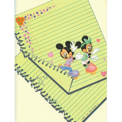Papel de Carta Antigo Disney M&M - Best Cards