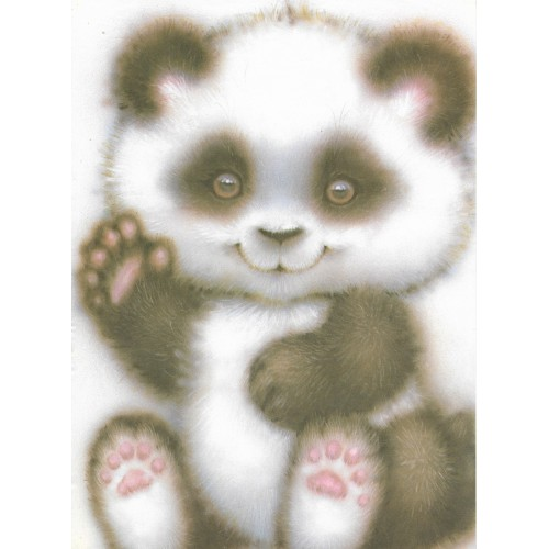 Papel de Carta ANTIGO A4 SPACK PANDA