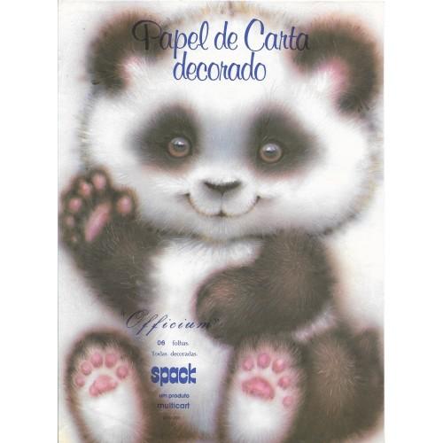 CAPINHA ANTIGA A4 SPACK PANDA