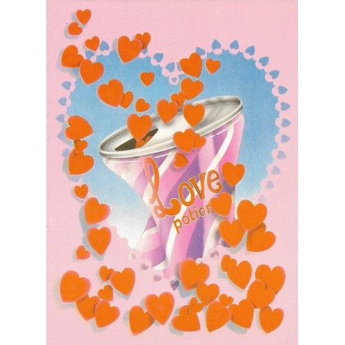 Papel de Carta ANTIGO A4 SPACK LOVE POTION