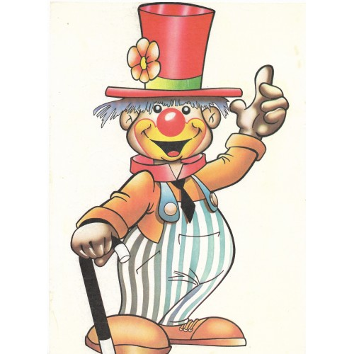 Papel de Carta ANTIGO A4 SPACK CLOWN