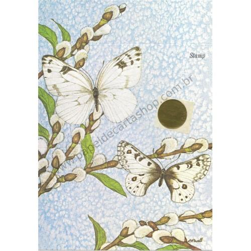Postalete Antigo Importado Butterfly 1 - Current