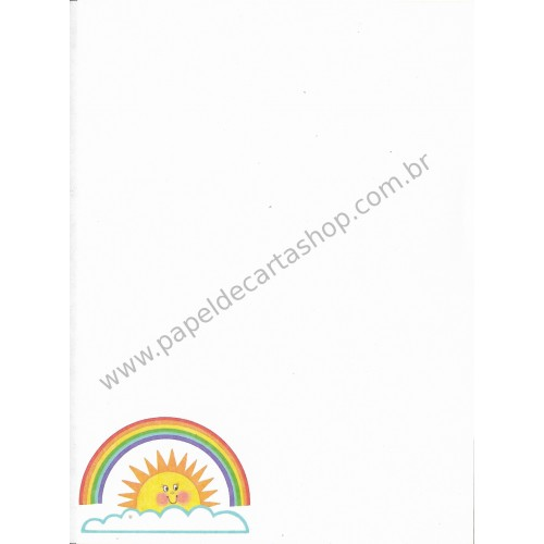 Papel de Carta AVULSO Antigo Rainbow - Sangamon