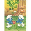 Papel de Carta ANTIGO PC 0513 Os Smurfs