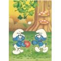 Papel de Carta ANTIGO PC 0513 Os Smurfs