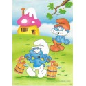 Papel de Carta ANTIGO PC 0514 Os Smurfs