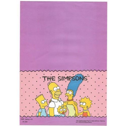 Papel de Carta ANTIGO PC 0603 Os Simpsons