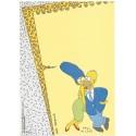 Papel de Carta ANTIGO PC 0612 Os Simpsons