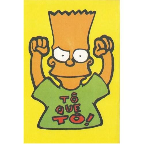 Papel de Carta ANTIGO Os Simpsons CAM