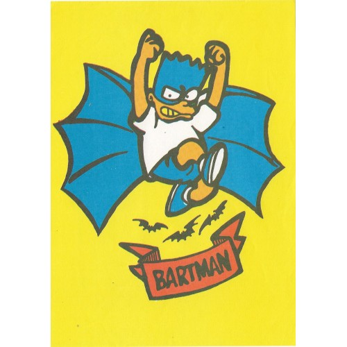 Papel de Carta ANTIGO Os Simpsons CAM Bartman