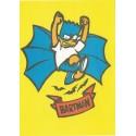 Papel de Carta ANTIGO Os Simpsons CAM Bartman
