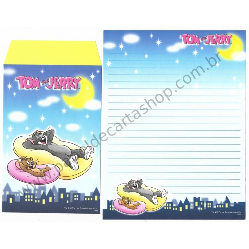 Conjunto de Papel de Carta IMPORTADO Tom & Jerry (s04) 11