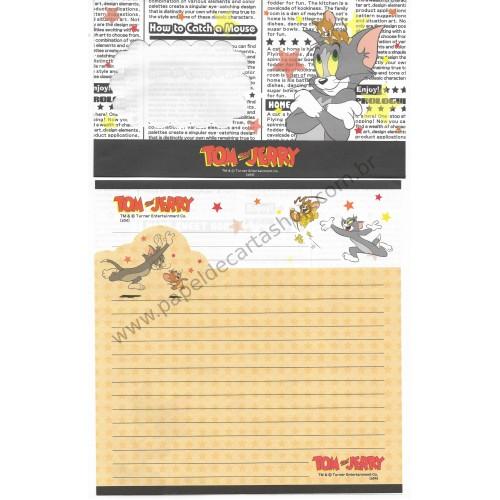 Conjunto de Papel de Carta IMPORTADO Tom & Jerry (s04) PBC
