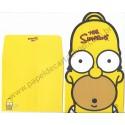 Kit 4 Conjuntos de Papéis de Carta Importados Os Simpsons Pinkfoot