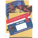 Ano 2004. Conjunto de Papel de Carta SPIDER-MAN 2