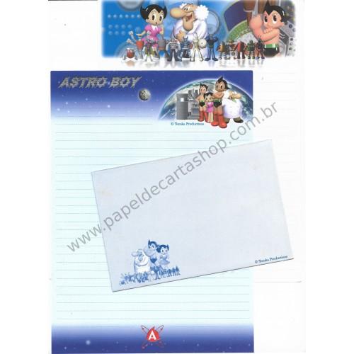 Conjunto de Papel de Carta Astro Boy