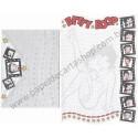 Ano 2007. Conjunto de Papel de Carta IMPORTADO Betty Boop KFS/FS CGR