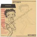 Ano 2003. Conjunto de Papel de Carta IMPORTADO Betty Boop King Kraft