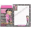 Ano 2004. Conjunto de Papel de Carta IMPORTADO Betty Boop CRUX 2