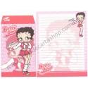 Ano 2004. Conjunto de Papel de Carta IMPORTADO Betty Boop CRUX 7