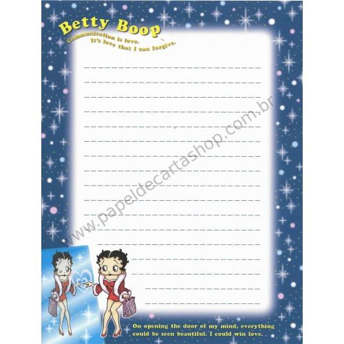 Papel de Carta IMPORTADO Betty Boop 1