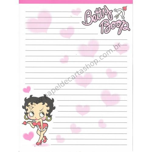 Papel de Carta IMPORTADO Betty Boop 3