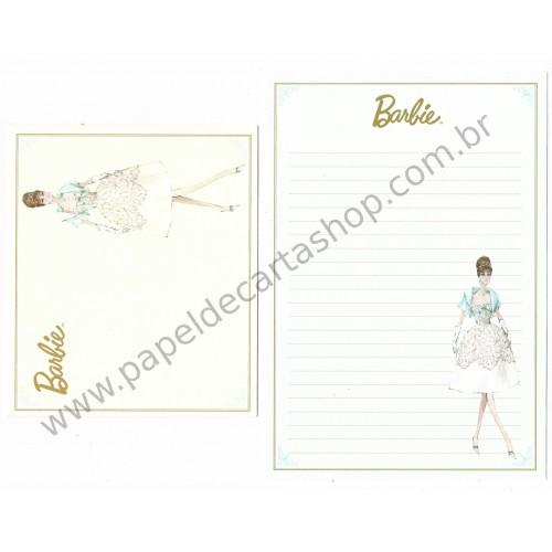 Conjunto de Papel de Carta Importado Barbie CAZ