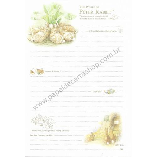 Papel de Carta Importado Peter Rabbit Ibis 1